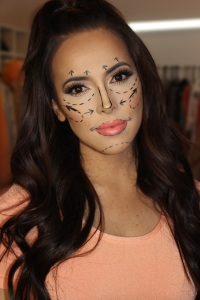 halloween makeup for bloody plastic surgery