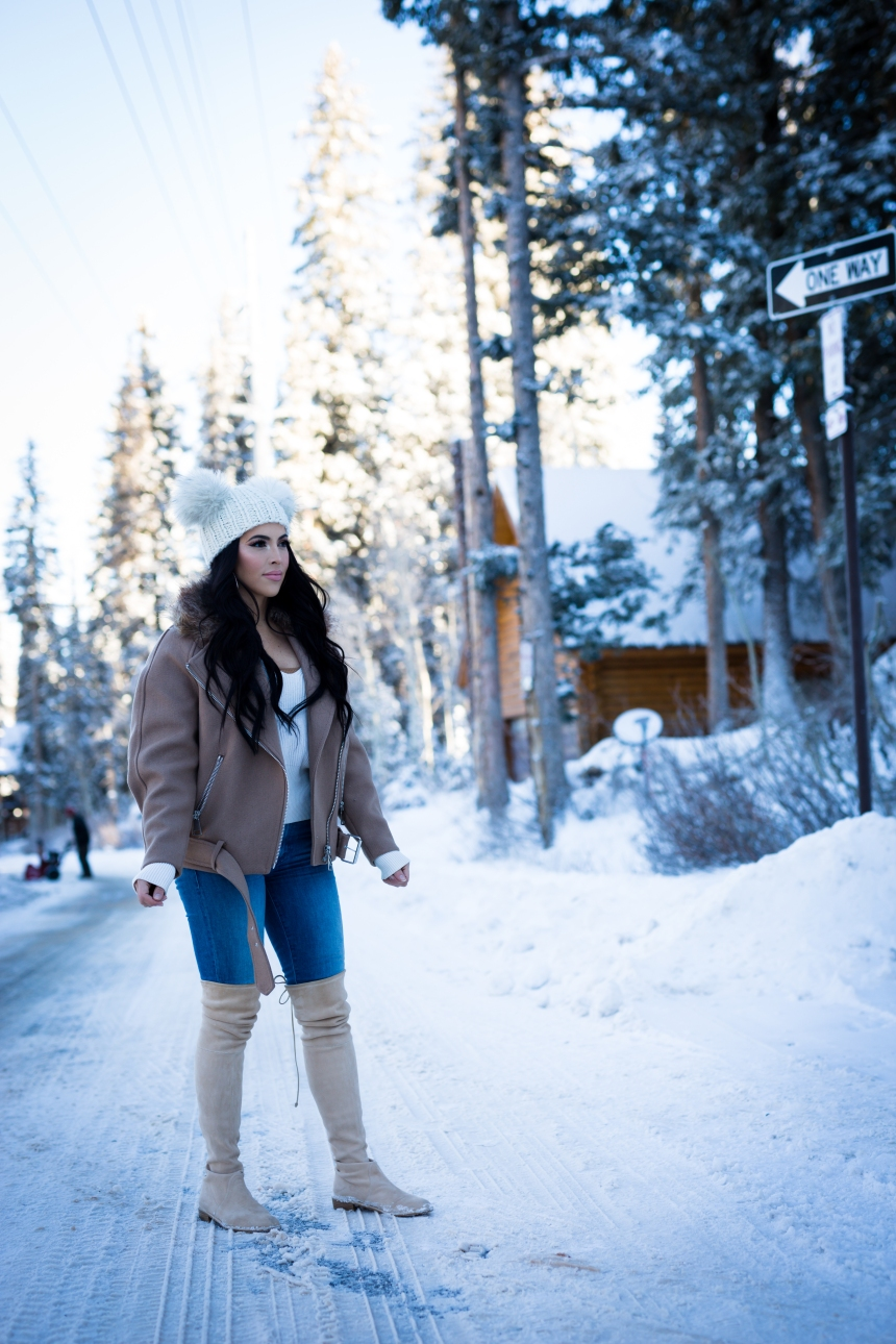Utah cold weather outfit